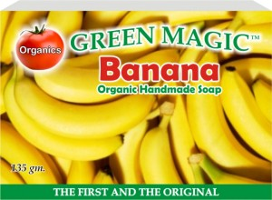 Green Magic Banana Soap