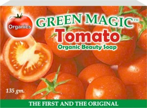 Green Magic Tomato Soap